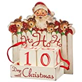 Primitives by Kathy Vintage Christmas Wood Countdown Box Ho