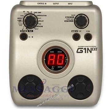 Pedal multiefectos para guitarra eléctrica Zoom G1 N: Amazon.es: Electrónica