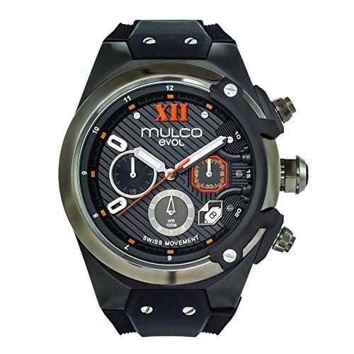 Mulco MW3-14021-025 Evol Collection Black Band Watch