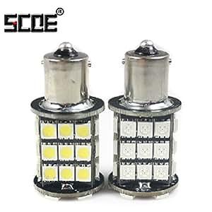 Amazon Com Scoe Auto Led Bulb Lamp 1156 Ba15s P21w 7506
