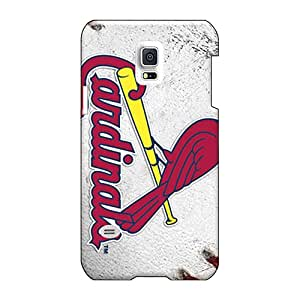 Durable Hard Phone Cover For Samsung Galaxy S5 Mini With Custom Colorful St. Louis Cardinals Pictures MarcClements