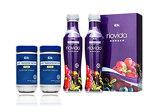 Foundation 4life RioVida Plus Pack by 4life by By 4life Research