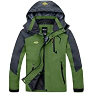 [Sponsored]Wantdo Men's Hooded Breathable Outdoor Hiking Windbreaker Waterproof Rain Jacket