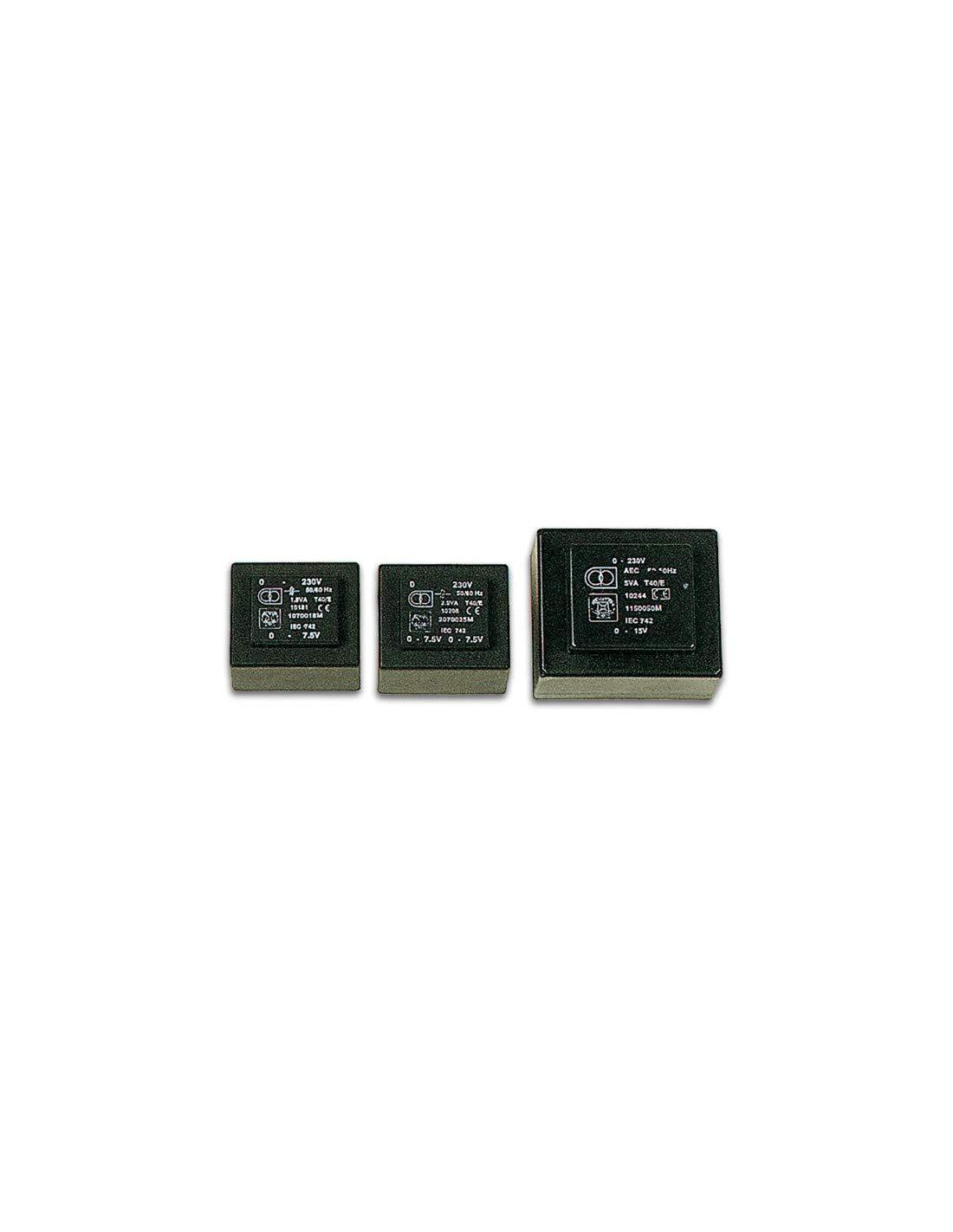Velleman 138786 Printtrafo, 3.8VA, 1 x 6V, 1 x 0.633 Amp