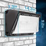 LED Wall Pack Photo Cell - 80W 5000K Commercial
