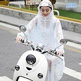 レインコート ポンチョ 男女兼用 自転車 透明 レインポンチョ通勤 厚手生地 雨具 防水 通学アウトドア 雨合羽