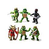 Teenage Mutant Hero Ninja Turtles PVC Action Figures Set 6 Pcs …