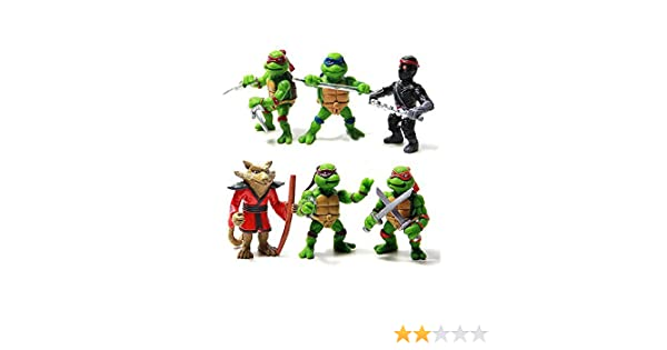 Figuras Teenage Mutant Ninja Turtles héroe de acción del PVC ...