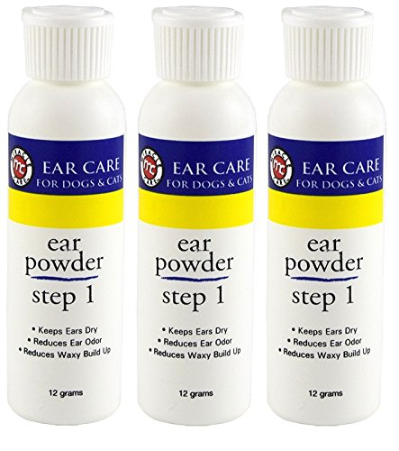 Miracle Care R-7 Ear Powder, 12 Grams Per Bottle (Pack of 3)