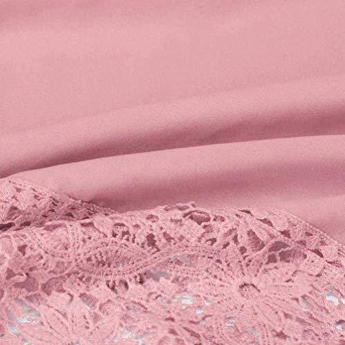 taille travail Chemisier Cute longues Blouses Teen les Zhrui femmes grande pour manches Vintage Juniors Rose Débardeur Femme élégant chemises Girls à occasionnel Sexy d'entraînement Loose chemise Swaa8Pfqx