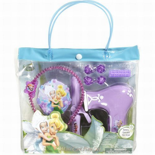 Tinkerbell Fairies Beauty Hair Care Play Set -