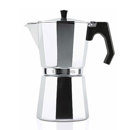 Taurus Cafetera Italiana, Aluminio, 12 Tazas: Amazon.es: Hogar