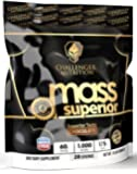 CHALLENGER NUTRITION - MASS SUPERIOR (BEST Mass Gainer). CHOCOLATE - 15 Pound /LBS. Best Tasting WITH 1,000 calories per serving