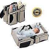 Diaper Bag - Travel Bassinet - Changing Station - Boxum Baby 3 in 1 Premium Diaper Bags