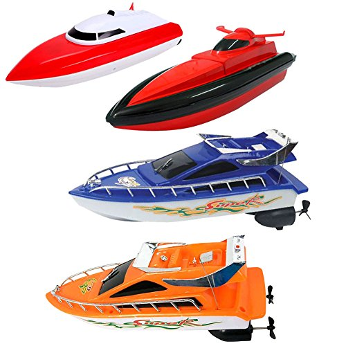 Chinatera Remote Control RC Super Mini Speed Boat High Performance Boat Toy Kids Preschool Educational Toys by Chinatera