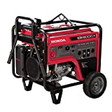 5000 Watt Portable Generator - Honda Power Equipment EB5000X31 5000W Gasoline Portable Generator with Gfci Outlet Protection and iGX, Steel