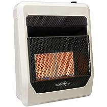 Lost River Natural Gas Ventless Infrared Radiant Plaque Heater - 20,000 BTU, Model# LR2TIR-NG