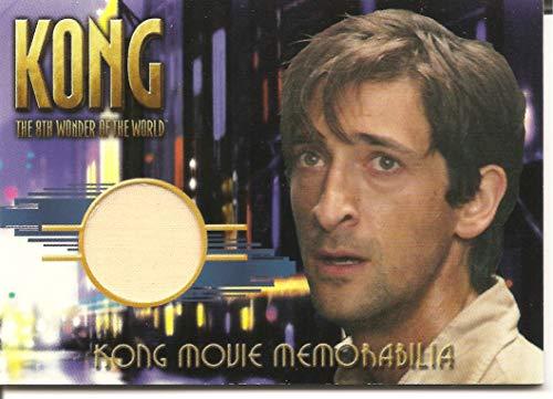 - Kong 8th Wonder of the World Jack Driscoll's Silk Shirt Costume Trading Card