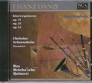 Franz Danzi - Michael Thompson Wind Quintet - Wind Quintets Op. 56 Nos. 1 - 3 / Sextet In E Flat Major