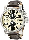 Haurex Italy Men's 3A506UTM TURBINA II Analog Display Quartz Brown Watch