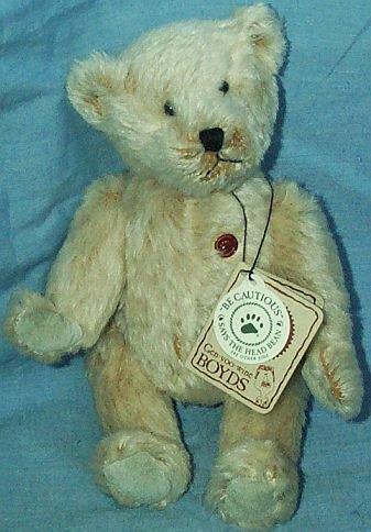 Boyds Mohair Teddy B. Bear #50004 (Mohair Teddy Bear)