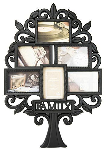 Boston Warehouse Family Tree Collage Wall Frame