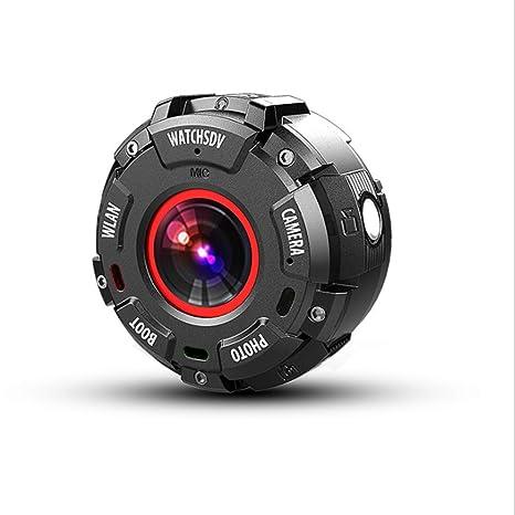 Pantalla redonda tres cámara DV anti movimiento HD profundidad cámara impermeable WIFI cámara directa visión nocturna