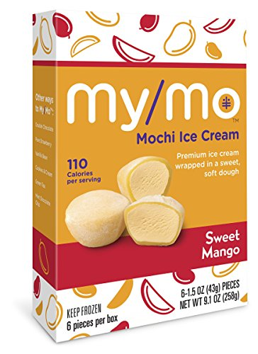 mango mochi ice cream - 1