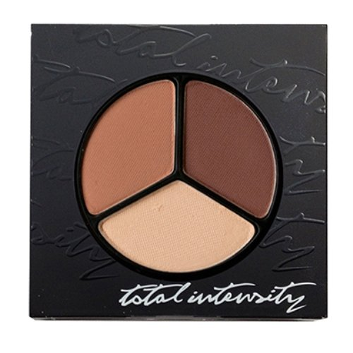 Total Intensity Totally Matte Eyeshadow Trio, Bohemian, 0.07 (0.07 Ounce Dimensional Shadow)