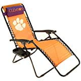 College Covers Clemson Tigers Textilene Zero Gravity Chair