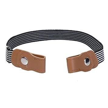 Amazon.com: AOLVO - Cinturones elásticos sin hebilla para ...