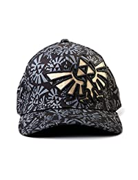 The Legend of Zelda Allover Black Flex Cap [Bioworld]
