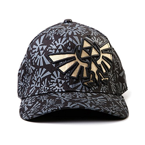 Nintendo Legend of Zelda Triforce Logo AOP Baseball Cap Hat