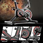 YUESFZ-Cyclette-Spin-Bike-Stepper-Nero-di-Perdita-di-Peso-della-Famiglia-Soggiorno-Bici-Sportiva-Silenziosa-Attrezzature-per-Il-Fitness-al-Coperto-Color-Black-86-45-110cm