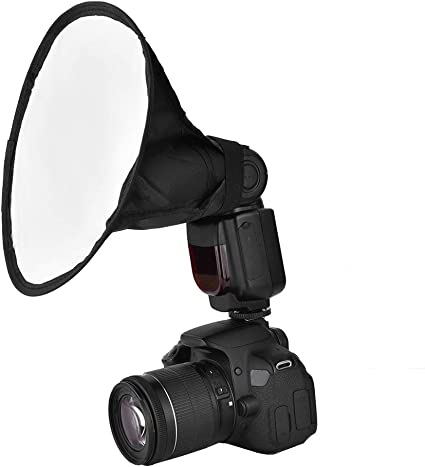 Diffuseur Flash SoftBox Universel Pliable pour Canon//Nikon//Olympus//Pentax
