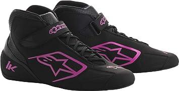 Alpinestars Tech 1-K Karting Shoes Size: 10, Black//Fuchsia