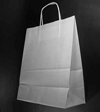 3p - Bolsas de papel kraft, 35 x 14 x 44 cm, pack of 25 ...
