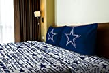 The Northwest Company Dallas Cowboys OFFICIAL NFL Twin Sheet Set – Anthem Series