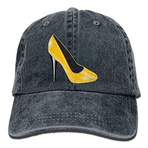 Hat Gorras Heel Cap Women Soy Como béisbol Shoe Plain Baseball Adjustable Denim Tu No Gold High qvtw0Z