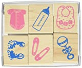 Hero Arts Welcome New Baby Woodblock Stamp Set