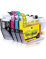OfficeWorld LC3219 Cartucce compatibili Brother LC3219 LC3219XL per Brother MFC-J6530DW MFC-J5330DW MFC-J6930DW MFC-J5335DW MFC-J5730DW MFC-J5930DW MFC-J6935DW (1 Nero,1 Ciano,1 Magenta,1 Giallo)