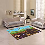 Happy More Custom Retro Style Bit Video Game Area Rug Indoor/Outdoor Decorative Floor Rug For Sale