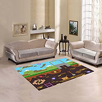 gamer rugtas over rug decor video sophisticated game