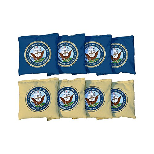 Victory Tailgate 8 US Navy Regulation Corn Filled Cornhole Bags