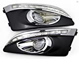 Forti USA   LED DRL Fog Lights replacement for US Chevrolet Sonic Aveo 2014 - White