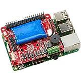 UPS PIco HV3.0A Stack Plus - 無停電電源装置 & 開発ツール for Raspberry Pi 3 - 450mAhバッテリ付き