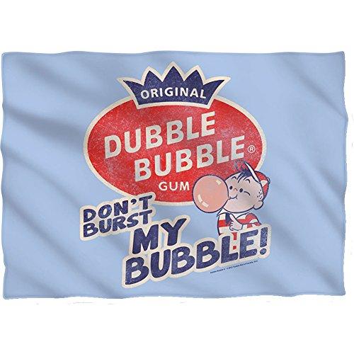 Wicked Tees DUBBLE BUBBLE BURST BUBBLE Pillow Case