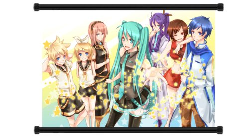Vocaloid Anime Fabric Wall Scroll Poster