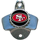 NFL San Francisco 49ers Wall Bottle Opener