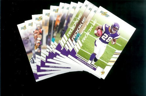 Minnesota Vikings Football Cards - 3 Years of Score Complete Team Sets 2006,2007, & 2008 - Includes Stars, Adrian Peterson Rookie & More - Individually Packaged! (Set Score Team)